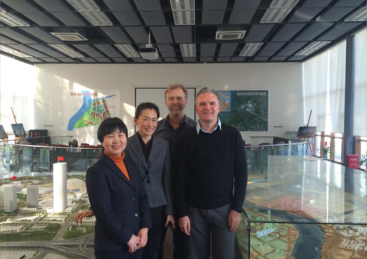 News.JA, WAU & EWUC visit Pudong Development Corporation in Shanghai